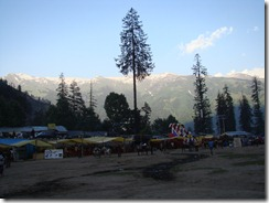 View From Solang Valley