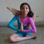 Tanvi' Yogasanas